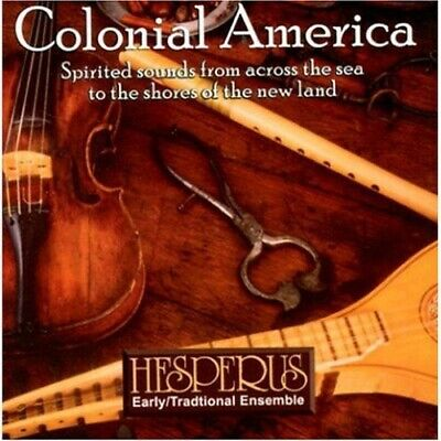 £10.90 • Buy Hesperus Colonial America Sealed Folk CD Recorder Pennywhistle Lute Theorbo 2003