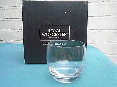£13 • Buy Royal Worcester Grand Chateau Kwarx 32cl Short Glass Tumbler X4 Boxed Unused