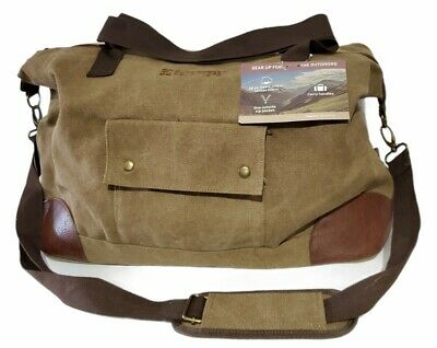 $19.99 • Buy BC Outfitters Canvas Duffle Bag Luggage Bag Brand New Heavy Cotton Canvas Bag