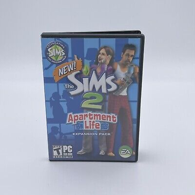 £10.86 • Buy THE SIMS 2 Apartment Life Expansion Pack (PC CD-ROM Game Software 2008) Rated T