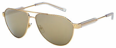AU163.73 • Buy Versace Sunglasses VE 2223 10025A 62 Gold | Brown/Mirrored Gold Lens