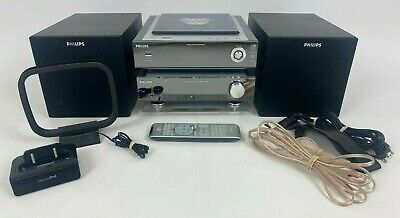 £50.44 • Buy Philips MCM704D Shelf Stereo CD Player Micro System Radio IPod Complete Tested