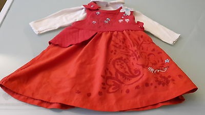 £32.64 • Buy Set Girl Dress Marese Top Collar Clayeux 3 Month Very Good Condition