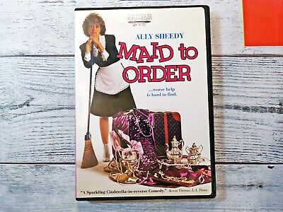 $9.89 • Buy Maid To Order DVD W/Insert Rare OOP 1987 Ally Sheedy Comedy 80s Beverly D'Angelo