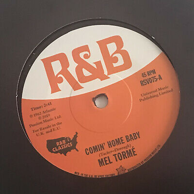 £9.50 • Buy Comin' Home Baby - Mel Torme / Cry To Me - Solomon Burke