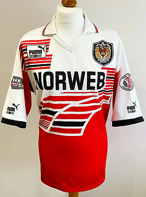 £64.99 • Buy WIGAN WARRIORS 1994-1995 Home Puma Rugby League Shirt Jersey (XL) Norweb 90s