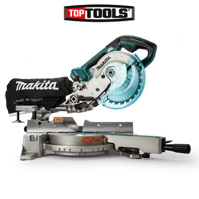 £569.90 • Buy Makita DLS714NZ Twin 18v 190mm Cordless Brushless Slide Compound Mitre Saw