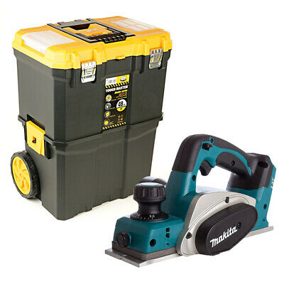 £165 • Buy Makita DKP180 18V LXT Planer 82mm With 19  Heavy Duty Rolling Storage Toolbox