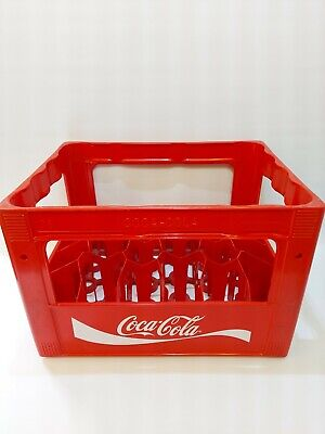 £24.99 • Buy Vintage Coca Cola Red Crate - Holds 24 Bottles - Retro