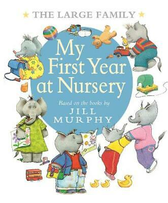 £7 • Buy The Large Family: My First Year At Nursery, Murphy, Jill, Excellent Book