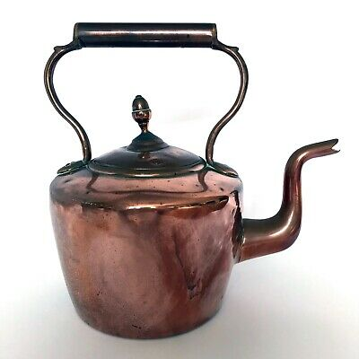 £14 • Buy Antique Copper And Brass Victorian Kettle