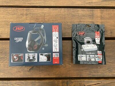 £90 • Buy JSP Force 10 Typhoon Full Face Mask, Respirator - Large + 2 Filters. Brand NEW