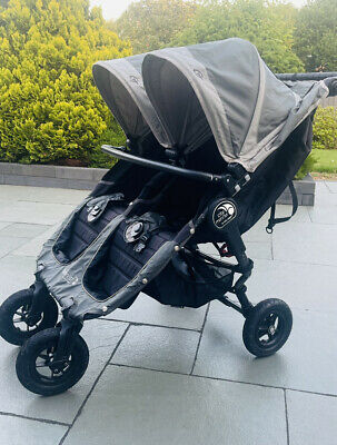 £349 • Buy Baby Jogger City Mini Gt Double Twin Pram Buggy Stroller Mint Condition Rrp £669
