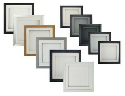 £13.99 • Buy 3D Deep Box Picture Frame Square Photo Craft Art Music Medal Hobby Display CD