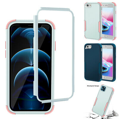 AU9.79 • Buy For IPhone 8 7 6s Plus 12 11 Pro Max XR SE Hard Shockproof Case Heavy Duty Cover