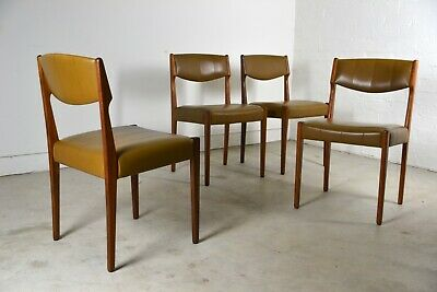 AU1400 • Buy Mid Century Dining Chairs T.H Brown Danish Design Eames Retro Vintage Furniture