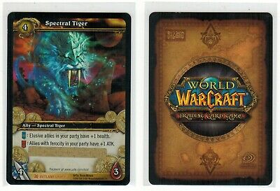 £6074.12 • Buy Spectral Tiger Epic Mount Unscratched Loot Card World Of Warcraft Wow Tcg