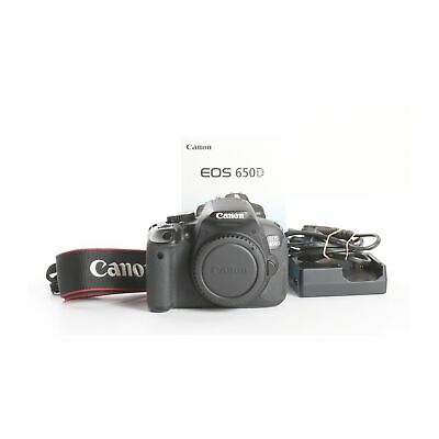 £276.64 • Buy Canon EOS 650D +9 Thousand Shutter Count + Very Good (237683)