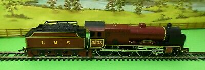 £74.50 • Buy Hornby R308 LMS 4-6-0 Loco Patriot Class 5533 LORD RATHMORE Maroon Boxed OO (f)