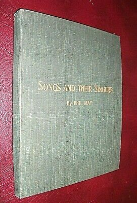 £50 • Buy PHIL MAY. SONGS & THEIR SINGERS. 1897 1st EDITION. PORTFOLIO Of 15 CARD PLATES