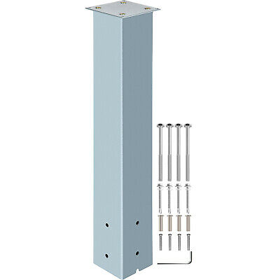 $39.99 • Buy VEVOR Mailbox Post Stand Mail Box Post 27  Granite Powder-Coated Steel Outdoor