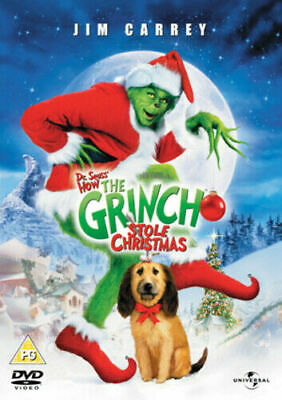 £5.97 • Buy The Grinch (DVD) New Sealed Jim Carrey Dr. Seuss How The Grinch Stole Christmas