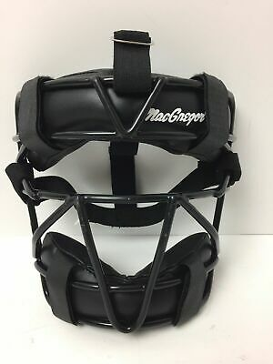 $14.99 • Buy MacGregor Catcher Face Guard Mask Black Padded Cage Adult MCB 26 NEW!
