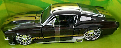 $29.99 • Buy Maisto Design 1967 Ford Mustang Gt 5.0 1:24 Scale Die Cast Black