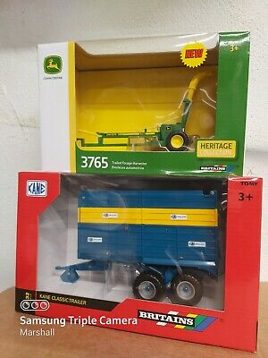 £44.99 • Buy Britains  John Deere 3765 Forage Harvester And Kane Classic Silage  Trailer 1/32