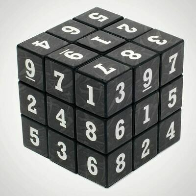 £9.99 • Buy Sudoku Cube Puzzle  Rubiks Style 3x3x3 Solve Number Stocking Filler Maths Fan