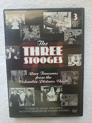 £5.81 • Buy The Three Stooges: Rare Treasures From The Columbia Pictures Vault (DVD)