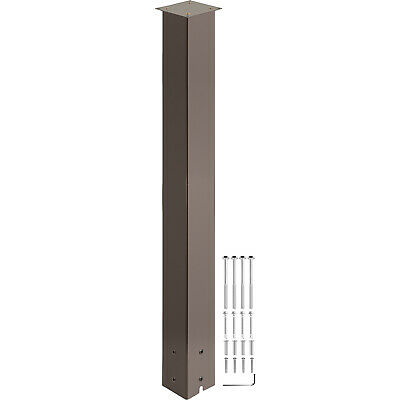 $42.99 • Buy VEVOR Mailbox Post Stand Mail Box Post 43  Bronze Powder-Coated Steel Outdoor