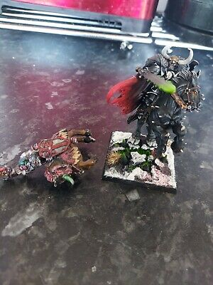 £67.50 • Buy 2 X Archaon On Horse Oop, Chaos Warhammer Age Of Sigmar Metal Well Painted
