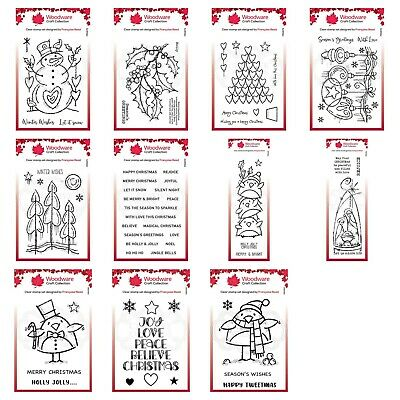 £4.95 • Buy Woodware Clear Singles Stamp - Christmas 2021 - Multibuy DISCOUNT Available