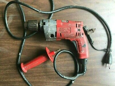 $34.95 • Buy Milwaukee Electric Corded Drill VSR 1/2  Magnum Holeshooter 0234-1 USA  *Tested*