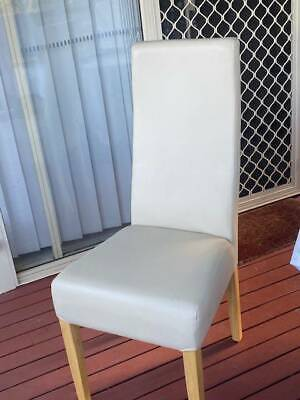 AU60 • Buy Leather Dining Chairs From Domain