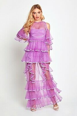 AU270 • Buy Bnwt Alice Mccall Lilac Endless Rivers Gown - Size 8 Au/4 Us (rrp $595)