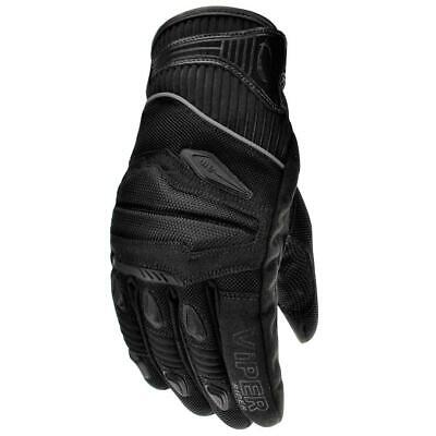 £24.99 • Buy Viper Street 4 CE Approved Summer Motorcycle Gloves Scooter Bike Black