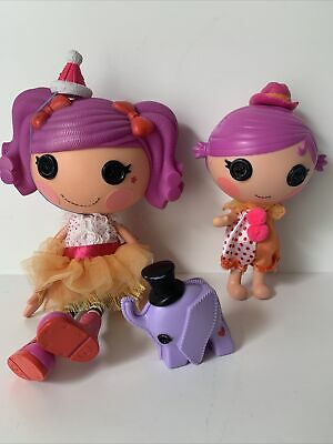 £18.95 • Buy Lalaloopsy Doll Bundle - Peanut Big Top Large 12in Doll & Squirt Lil Top (700)