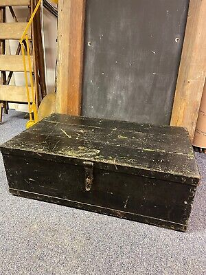 £95 • Buy Vintage Wooden Trunk / Chest