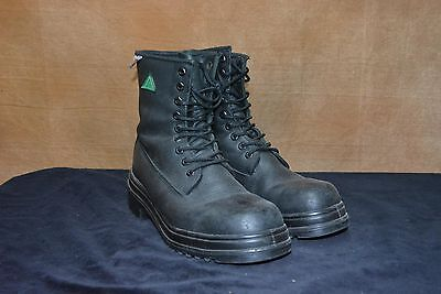 $39.68 • Buy Used Canadian Military Combat Boots Size  7.5 Steel Toe  (N13)