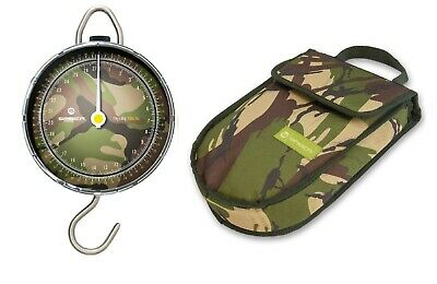 £34.99 • Buy Saber Fishing Scales Camo Dial DPM Portable Weigh + Pouch Travel Carp Sea Tackle