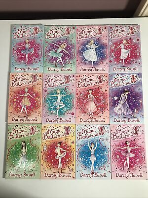 £11.99 • Buy Magic Ballerina 12 Book Bundle By Darcey Bussell Books 1-12 VGC