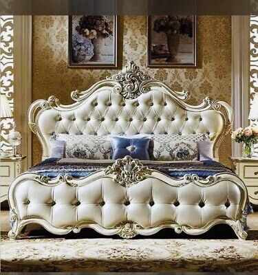£5000 • Buy Baroque/ Rococo Style Luxury King Size Bed
