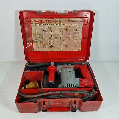£99.99 • Buy Hilti TE-17 110V Rotary Hammer Drill With Carry Case. Tested And Working