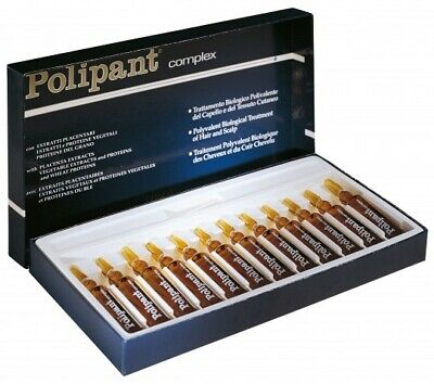 £21.99 • Buy Dikson POLIPANT COMPLEX Anti Hairloss 11*10ml Ampoules Vials Placenta Extract UK