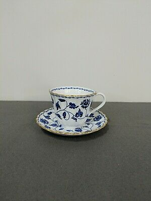 £18.18 • Buy Spode Colonel Blue 2-1/2  Tall Cup And Saucer, 22 K Gold Trim