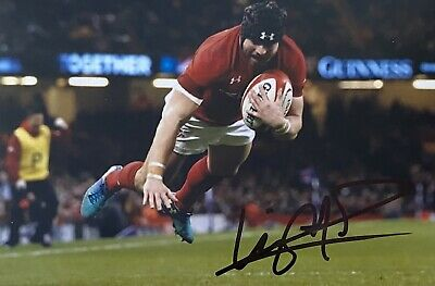 £14.99 • Buy Leigh Halfpenny Genuine Hand Signed Wales 6X4 Photo 3