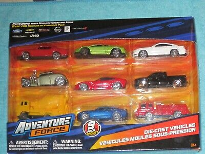 $ CDN18 • Buy Adventure Force - 9 Pack Die-Cast Vehicles (Randomly Assorted) ~ By Maisto ~ NEW