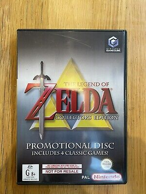 AU142.50 • Buy The Legend Of Zelda Collector's Edition Promotional Disk Nintendo Game Cube PAL